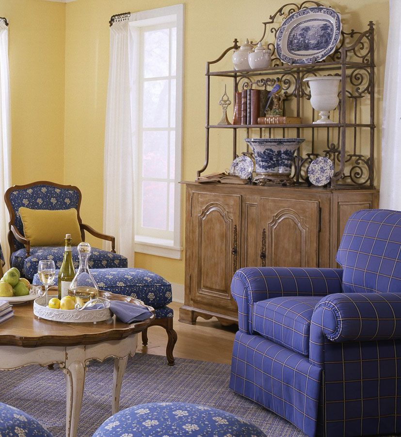 remarkable french country living room furniture | french country. This blue is on main floor living space ...