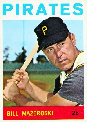 1964 Bill Mazeroski Pittsburgh Pirates Pittsburgh