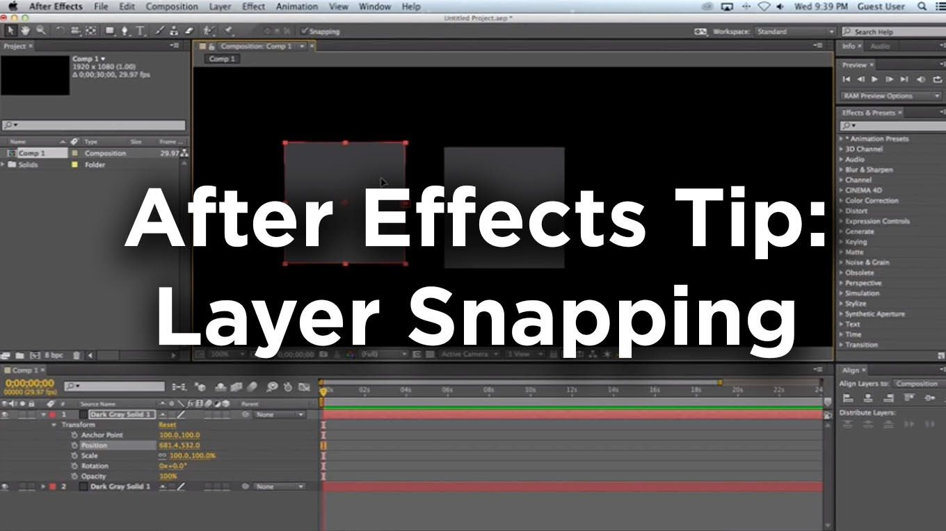 After Effects Cc Has A Myriad Of New Tools To Help With Advanced