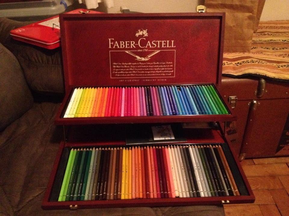 Estojo De Lápis De Cor Faber Castell C/ 100 Cores