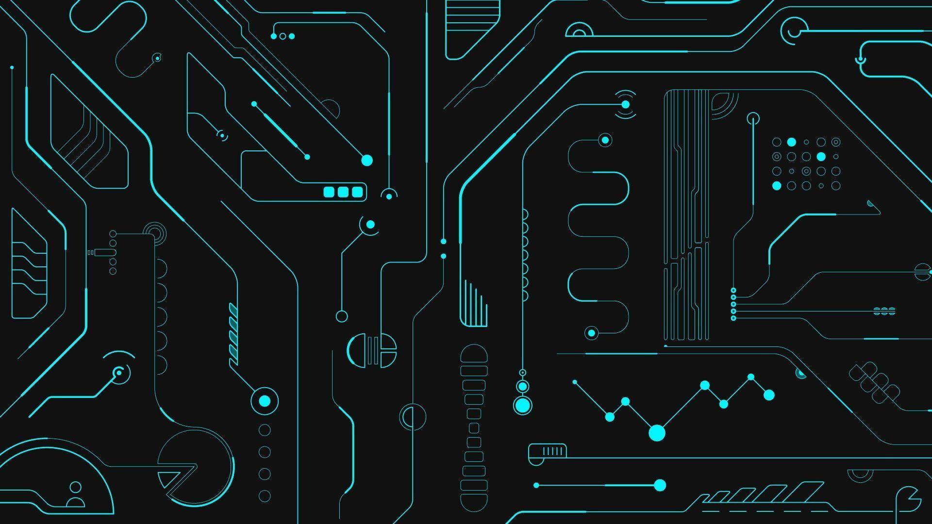 Circuito Hd : Design designs abstract interface interfaces wallpaper