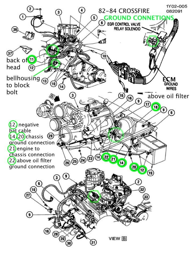1984 corvette crossfire injection wiring diagram