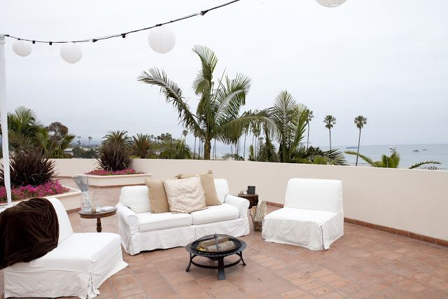 Bijoux Events: The Fess Parker Resort, Santa Barbara California. Rented  Lounge Furniture On