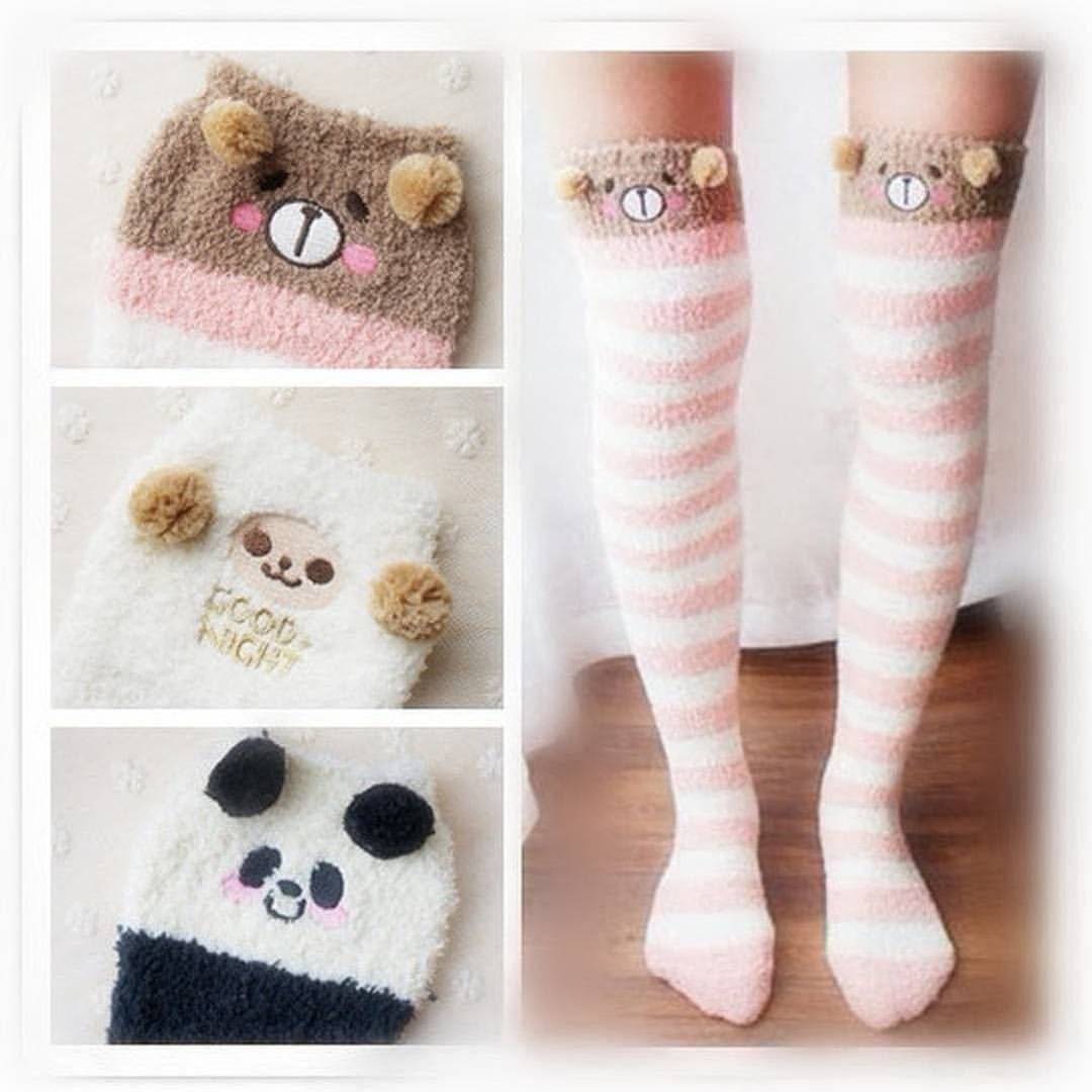 56b0974314e Cutie Animal Fleece Thigh High Long  Socks  SP154247 Shop from  SpreePicky.com link on bio! Christmas Promotion On Spreepicky.com Codes  Xmas15  15% Off On ...