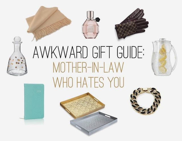 Style Wire: The Awkward Gift Guide: The Mother-In-Law Who