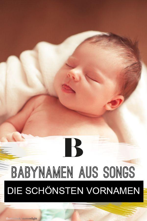 Babynamen aus Songs: Die schönsten Vornamen. Von Angie