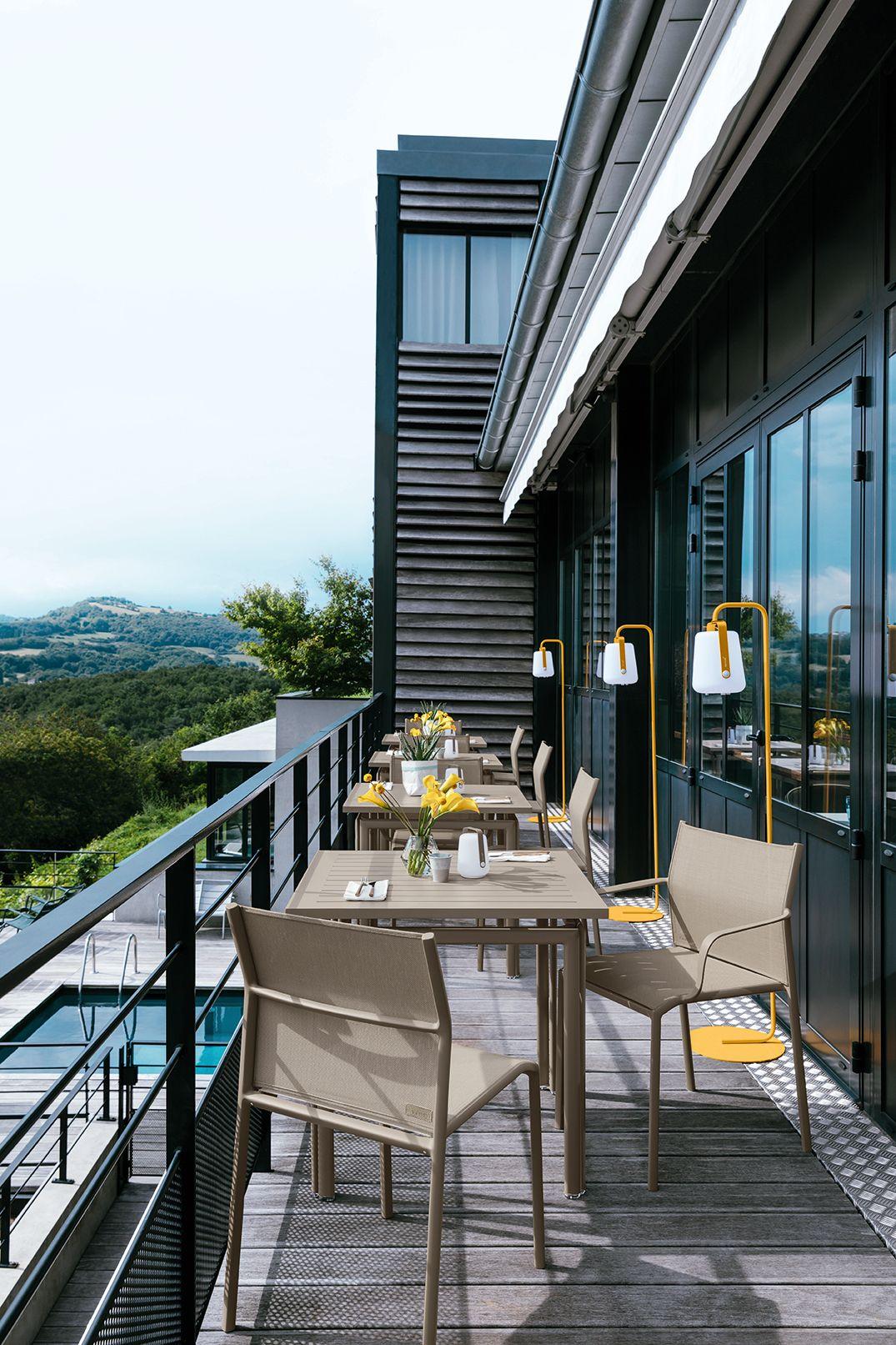mobilier #professionnel #hotel #exterieur #outdoor #solide ...