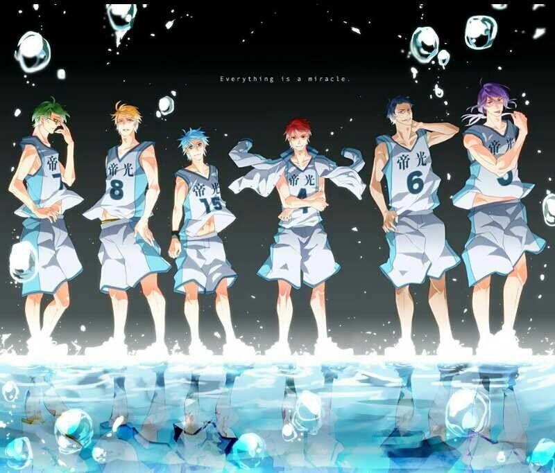 Kuroko No Basket Generation Of Miracles