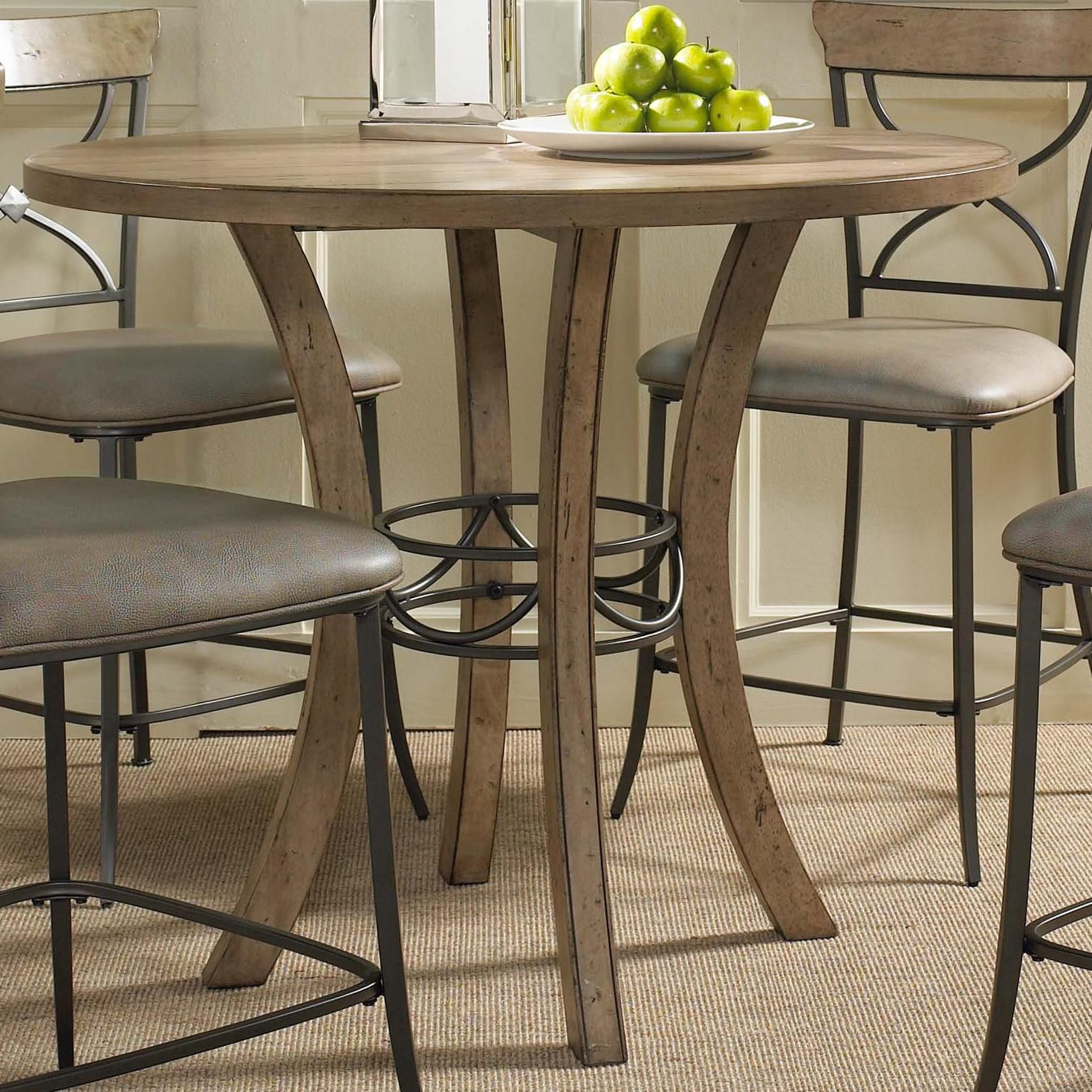 Charleston Wood Counter Height Table By Hillsdale Bar