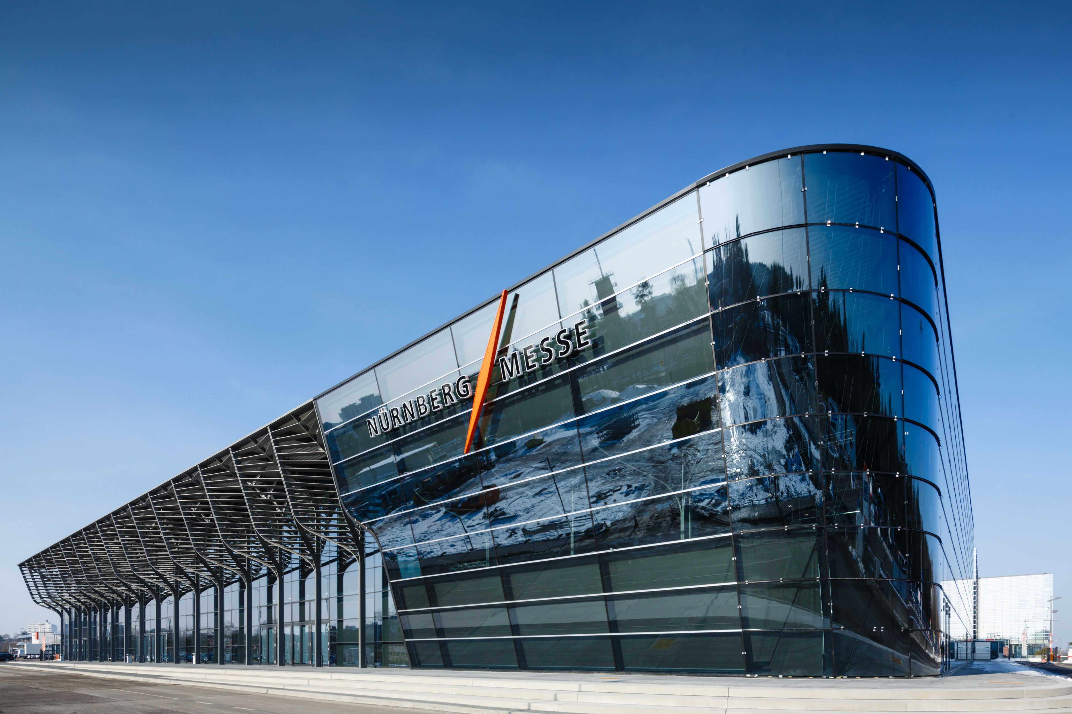 Architekten Nürnberg nürnbergmesse zahahadid architektur nürnberg copyright