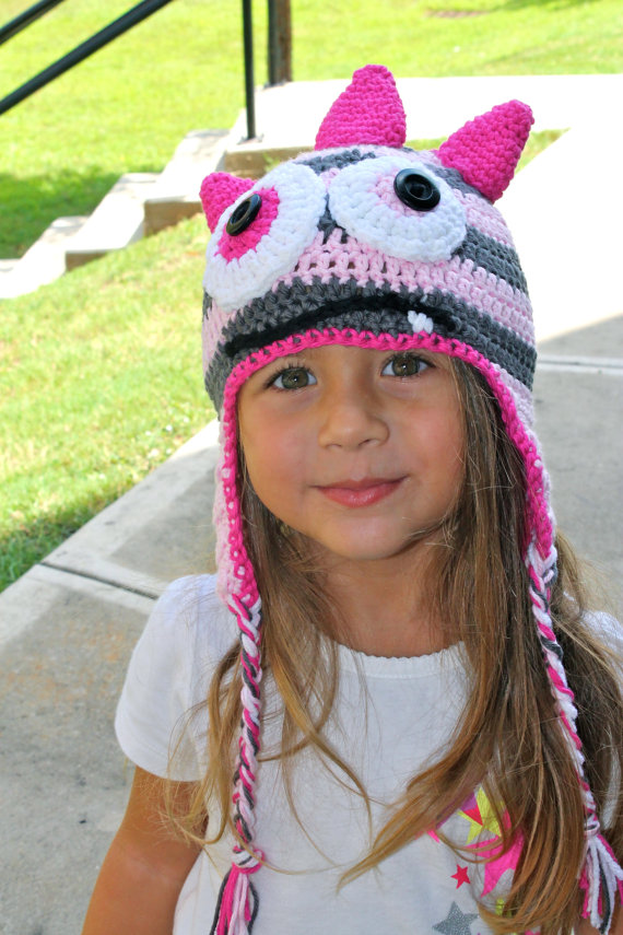 kids crochet monster hat by KerzeisKollection on Etsy, $20.00 ...