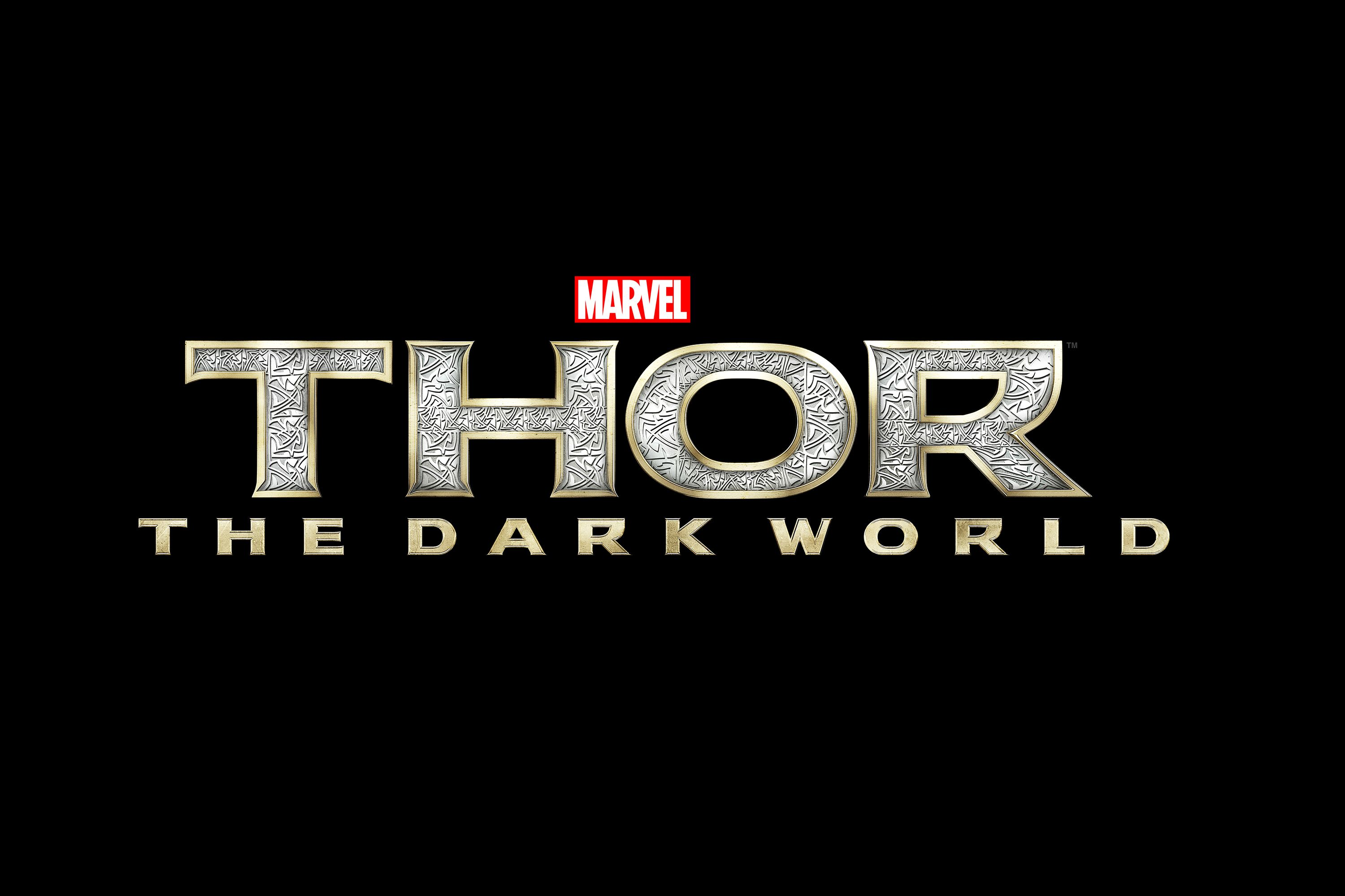 Thor logo The dark world, Thor, Comic book superheroes