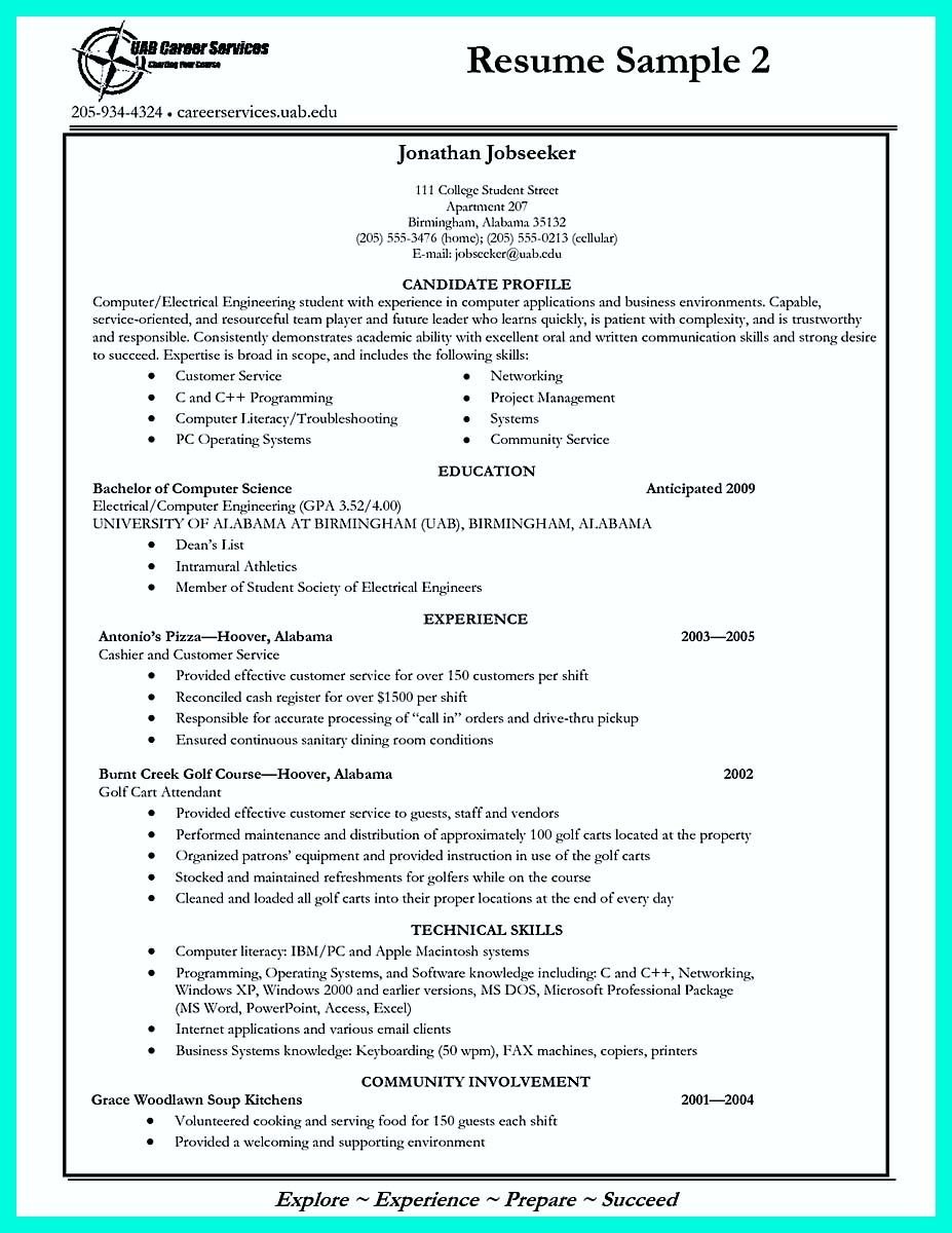 Example College Resumes Interesting Nice Best College Student Resume Example To Get Job Instantly .