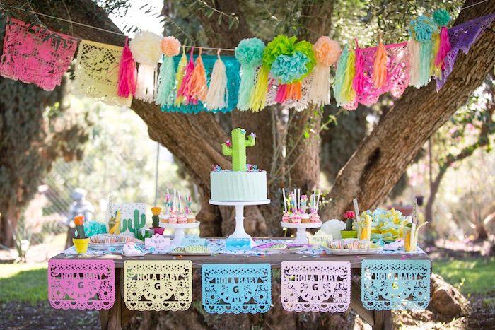 Cactus Fiesta Baby Shower Baby Shower Ideas Owl Baby