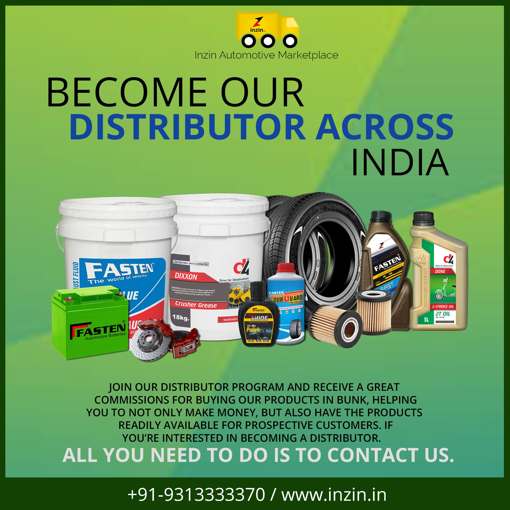inzin Automotive Marketplace pvt  Ltd  is looking for SS