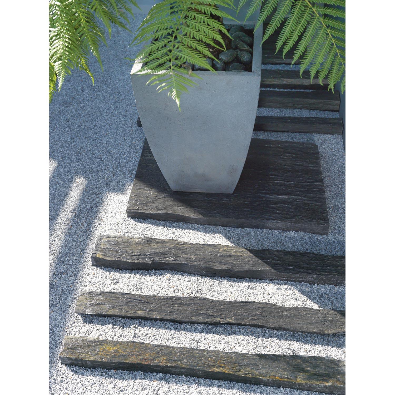Bordure Droite Ardoise Noir H 8 X L 100 Cm Bordure Jardin Ardoise Noire Ardoise
