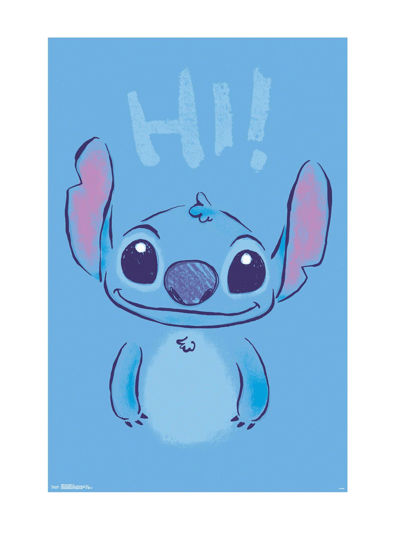 Disney Lilo Stitch Hi Poster Hot Topic วอลเปเปอร พ นหล ง
