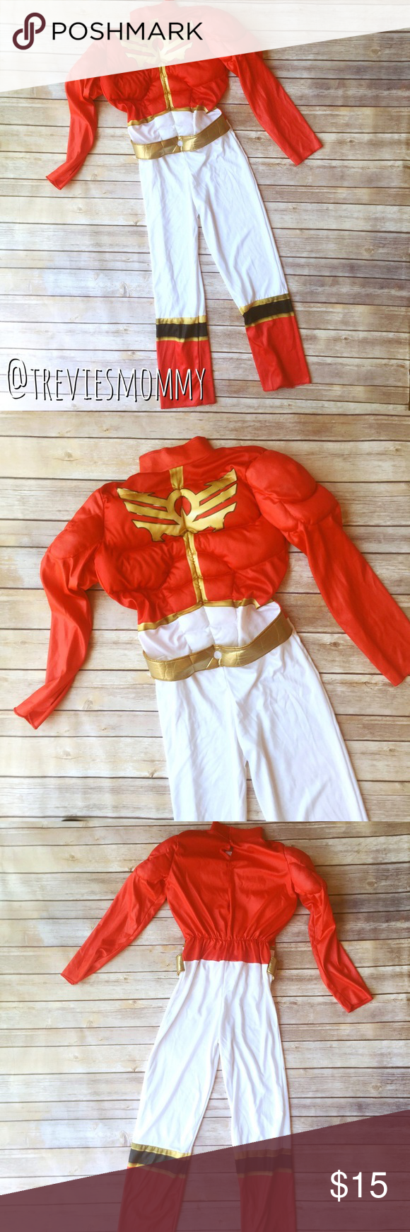 Power Rangers Megaforce costume! Power Rangers Megaforce Halloween ...