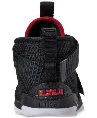 buy popular a7b13 7f5d1 Nike Toddler Boys  LeBron Soldier 11 Basketball Sneakers from Finish Line -  Black 10