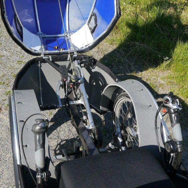 podride inside front half open   Velomobiles & Bikes ...