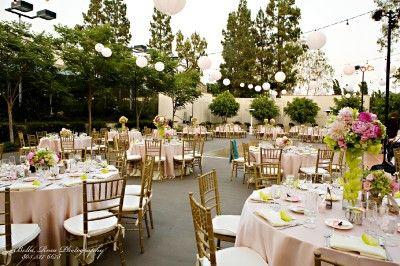 Venue Los Angeles Outdoor Wedding Mountaingate Country Club