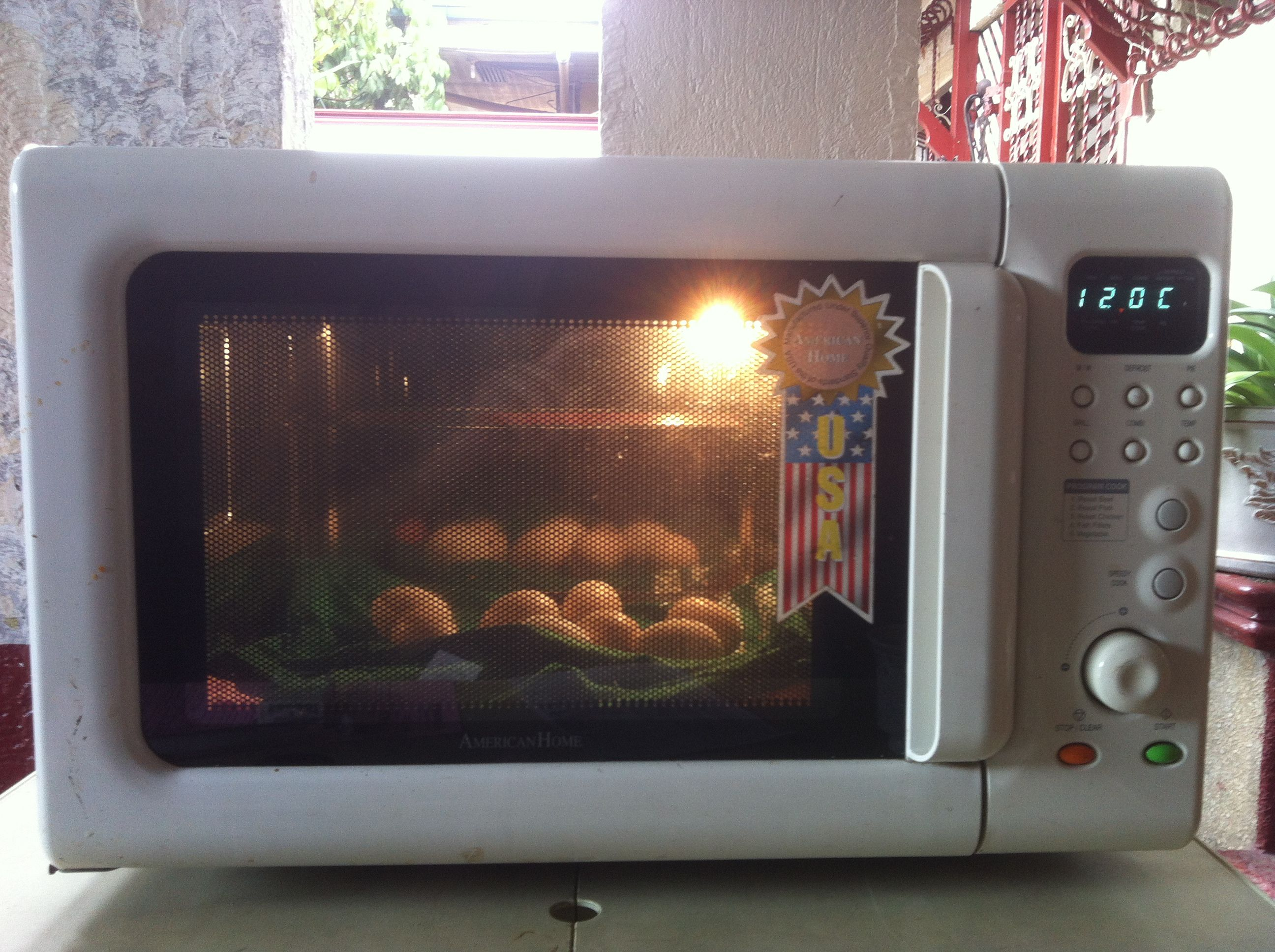 This Incubator Was Built Using An Old Microwave Oven
