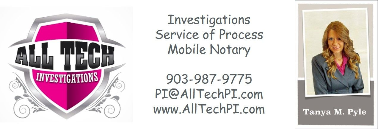 Investigations, Service of Process, Mobile Notary