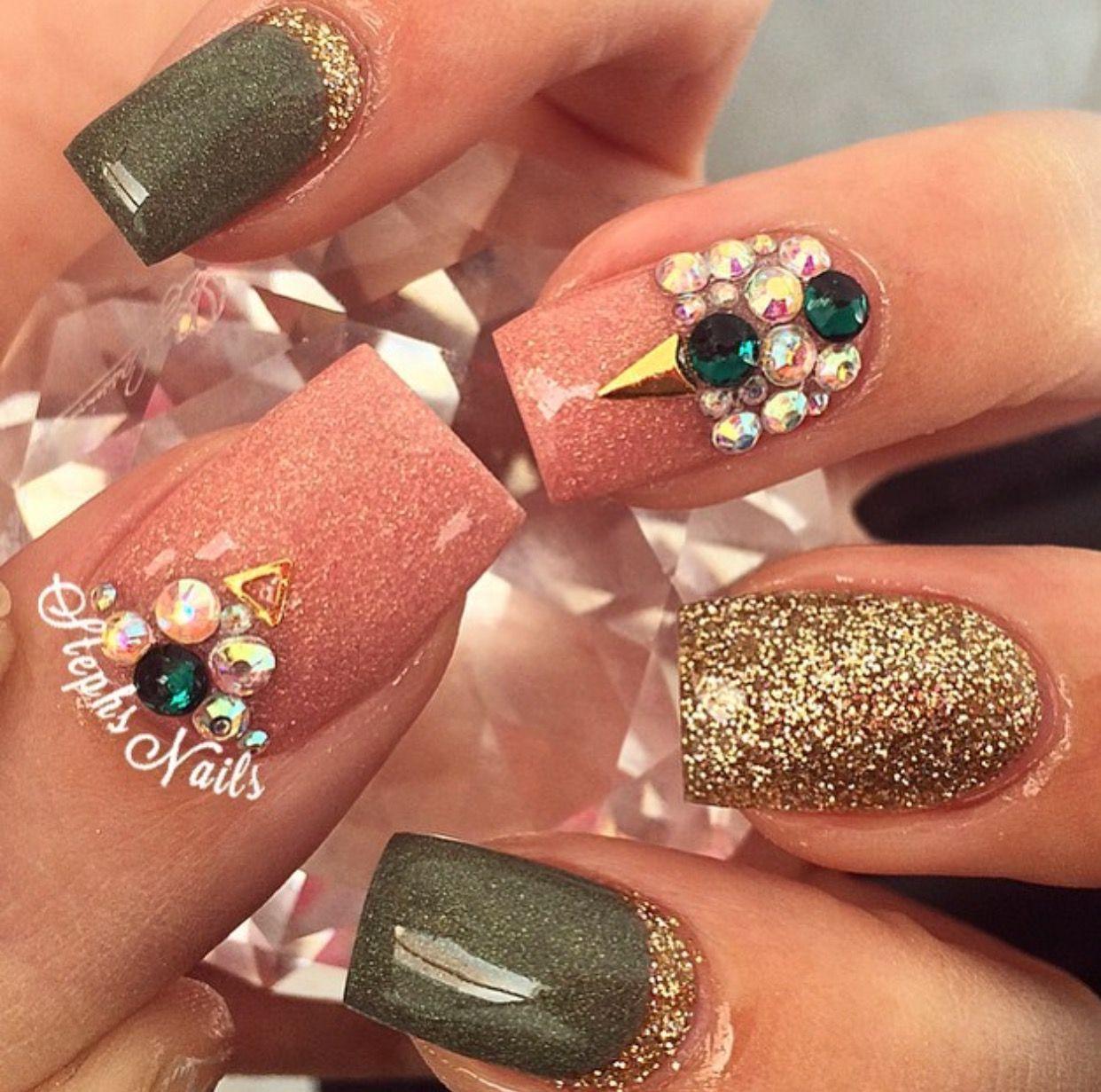 Pin von Kimberli Marie auf Nails | Pinterest | Nageldesign