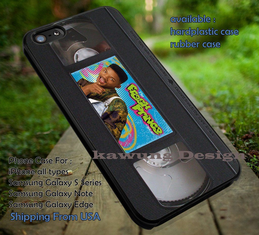 Fresh Prince of Bel Air Video Tape iPhone 6s 6 6s 5c 5s