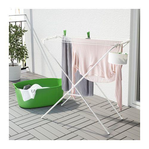 J 196 Ll Drying Rack Indoor Outdoor White Suszarki Suszarki