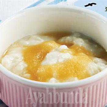 Resep Bubur Beras Saus Jeruk Resep Makanan Bayi Resep Makanan