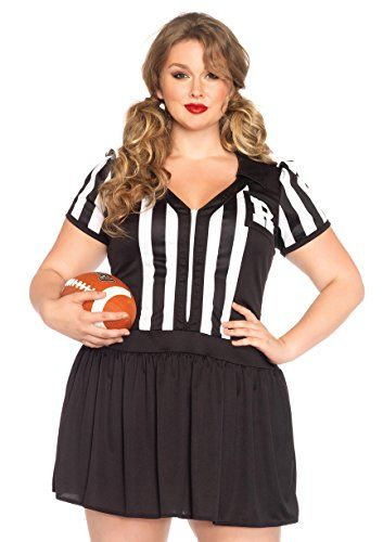 Halloween Costumes Ideas Leg Avenue Women\u0027s Plus-Size Halftime - halloween costume ideas plus size