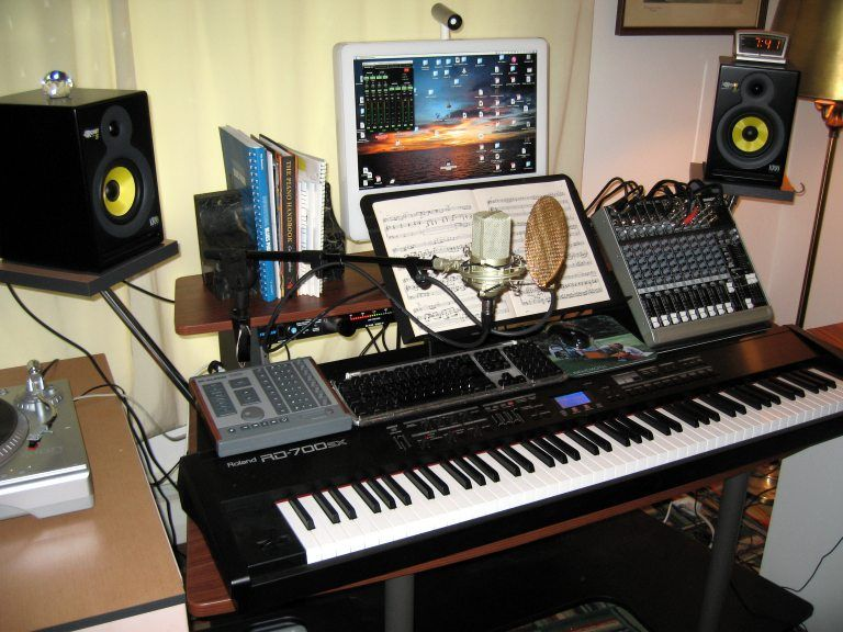 Enjoyable 17 Best Images About Home Music Studio On Pinterest Music Rooms Largest Home Design Picture Inspirations Pitcheantrous