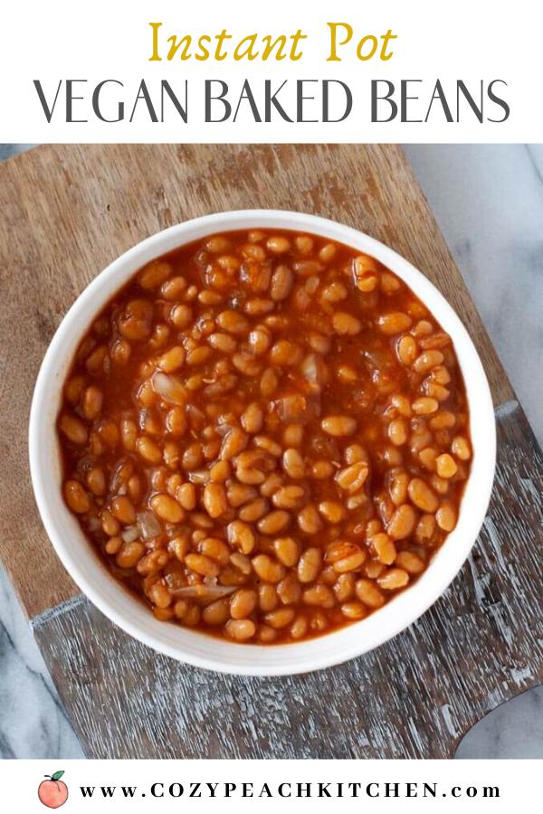 Instant Pot Vegan Baked Beans Recipe Vegetarian Baked Beans Baked Beans Easy Bean Recipes