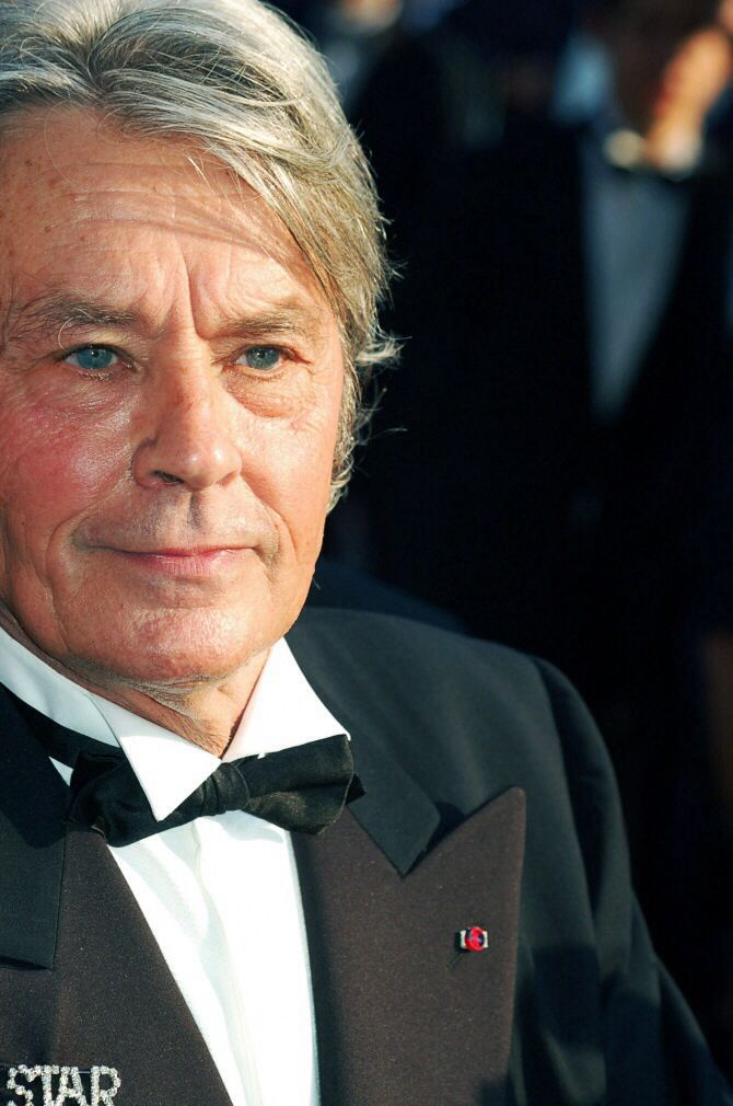 The wonderful Alan Delon French actor Mrs Susan Ansley??? here in New Zealand