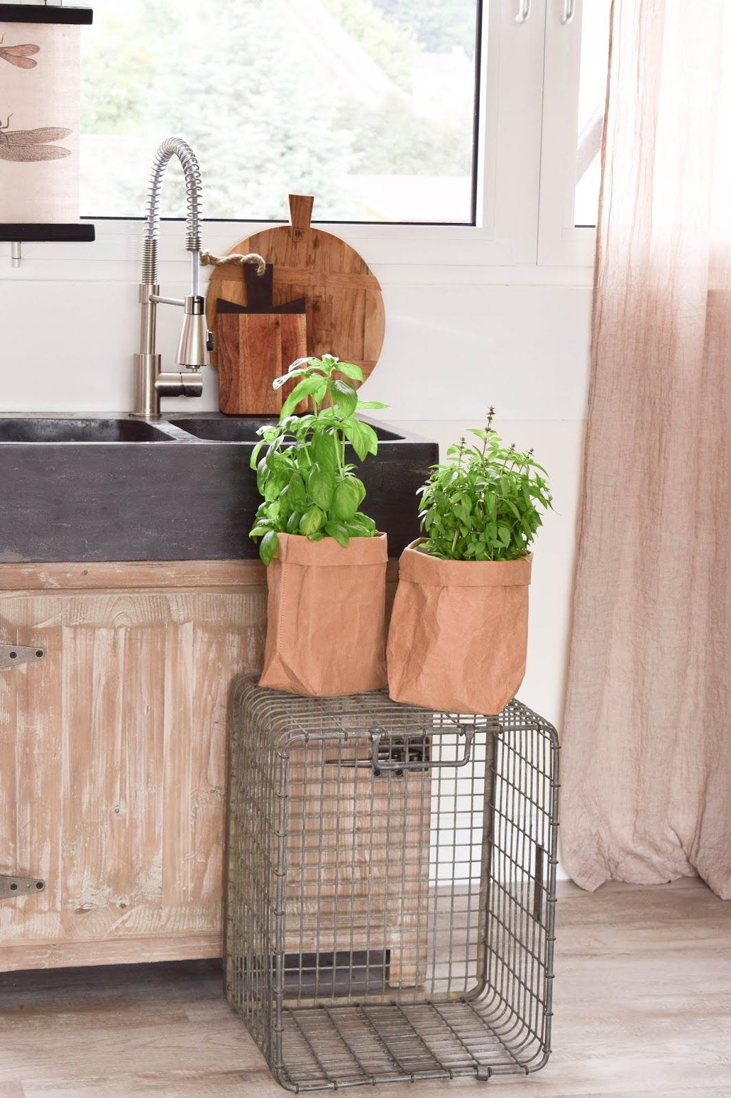 Kräutertopf für Küche: die bessere Idee: Kräuter in