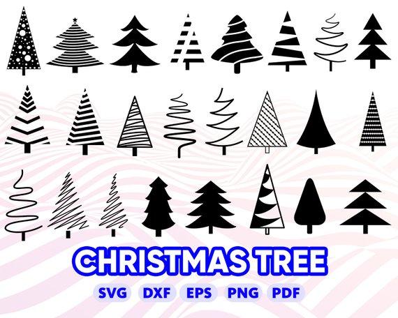 Christmas Tree Svg Christmas Tree Clipart Christmas Tree Silhouette Christmas Tree Vector Tree Cl Christmas Tree Clipart Christmas Tree Silhouette Tree Svg