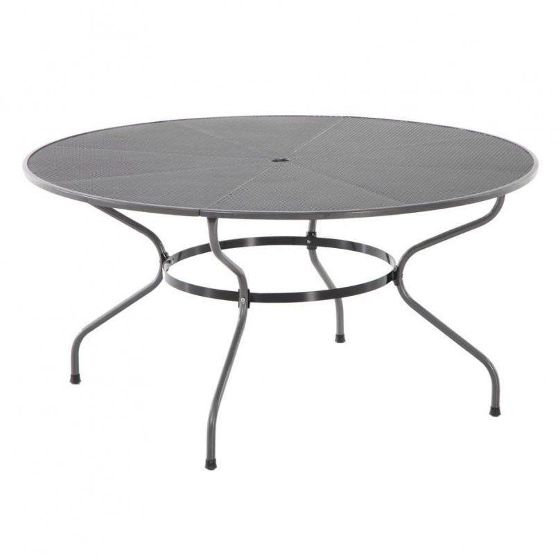 Royal Garden Royal Verso Tisch O150 Cm Streckmetall Garten Amp Freizeit Von Gartentisch Rund 150 Cm Bild Gartentisch Aussenmobel Tisch