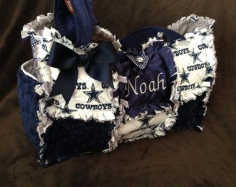 Dallas Cowboys Diaper Bag Made Modern Chic Rag Quilted With Cowboy And Pink