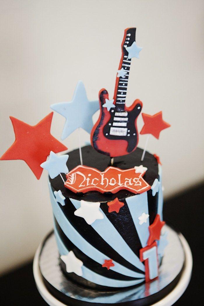 Superb Rock Star Birthday Party With Images Rockstar Birthday Party Funny Birthday Cards Online Kookostrdamsfinfo