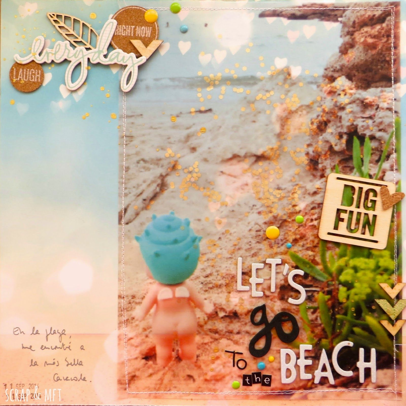 SCRAP & my favourite things: LO let's go to the beach
