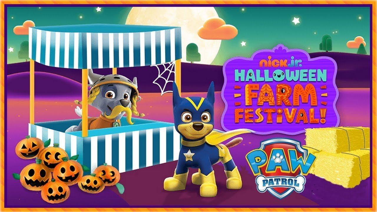 Nick Jr. - Halloween Farm Festival! - Games For Kids   Gameplay for ...