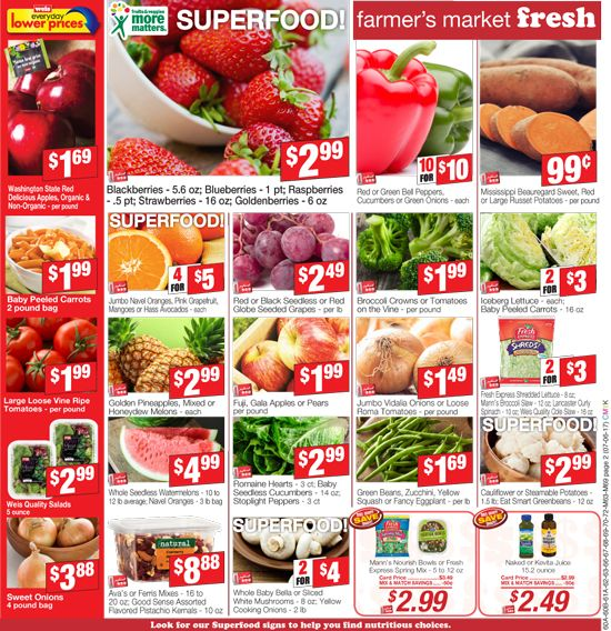 Weis Markets Chambersburg Pa Circular Weismarkets Weismarketscircular Weismarketsweeklyad Weismarketsad Superfood Food Strawberry