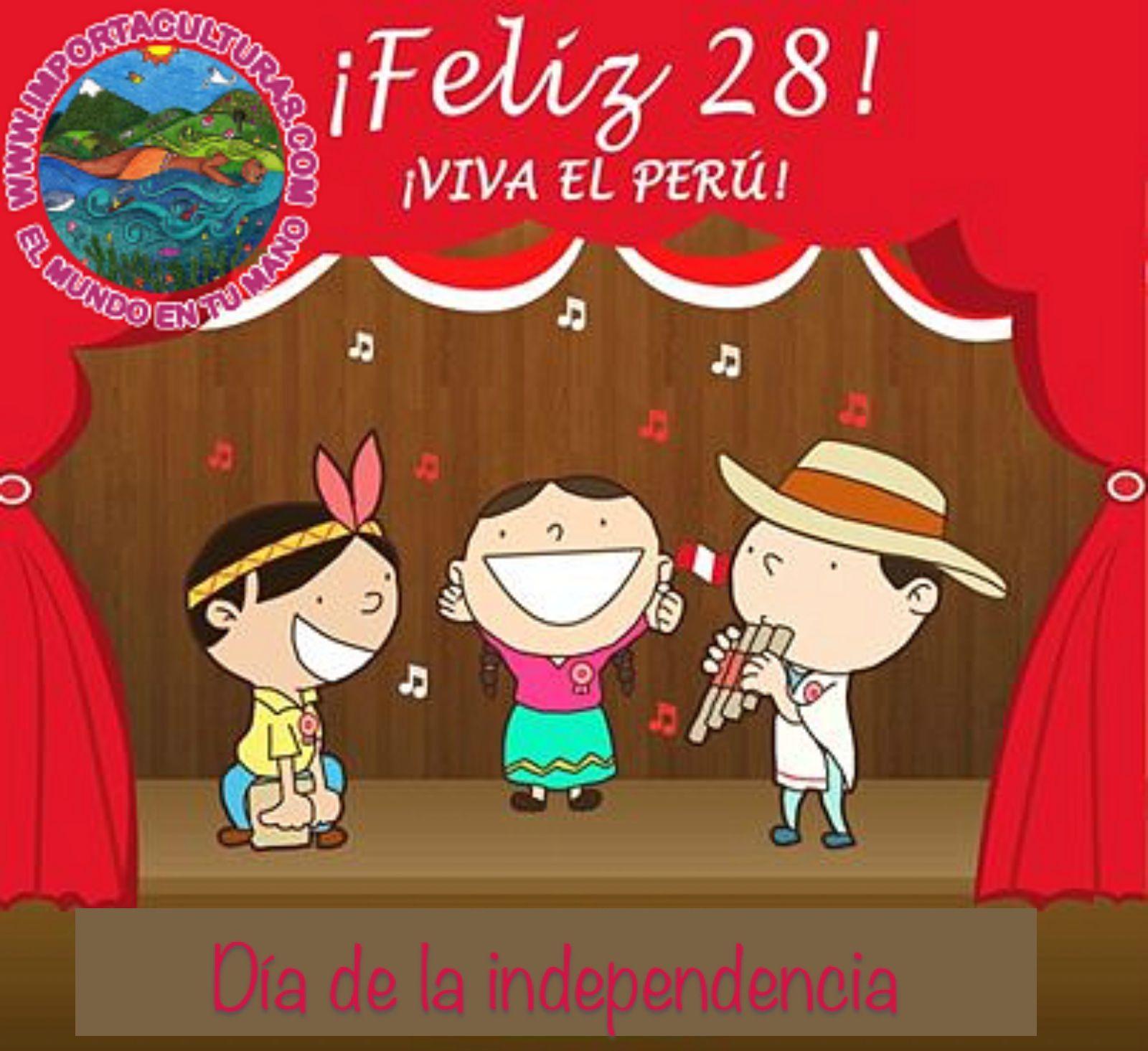 Feliz día de la independencia peruanos !