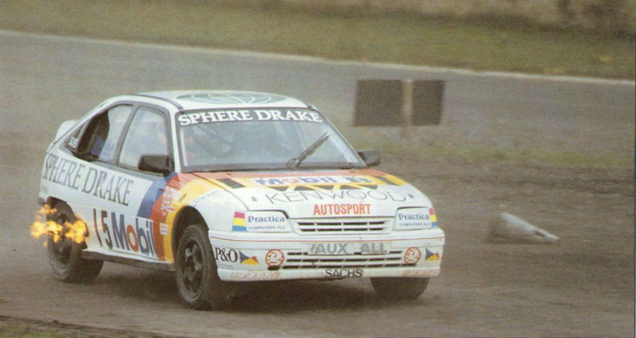 Vauxhall Astra rallycross car - 4x4 - turbo - John Welch ...