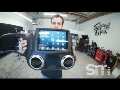 Ipad Mini Installed Into A Jeep Rubicon Dash Soundman Mini Jeep