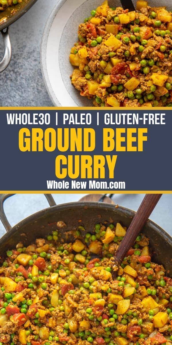 Pakistani Kima - Ground Beef Curry images