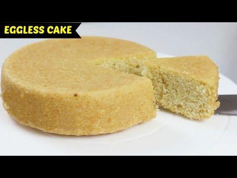 Super Soft Eggless Cake Using No Curd Or Condensed Milk Soy Milk Mt Basic Sponge Cake Recipe Condensed Milk Cake Sponge Cake Recipes