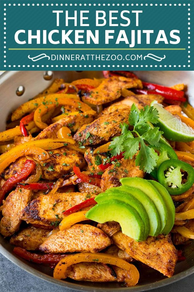 Best Chicken Fajitas Recipe