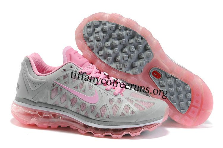 Mujeres Nike Air Max 2011 Zapatillas De Color Rosa Gris falso barato N6GojNp
